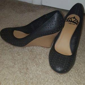 Fergalicious Shoes - Fergalicious black wedge heels