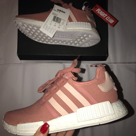 huge discount aeae2 c1621 Adidas NMD R1 (Raw pink/white)