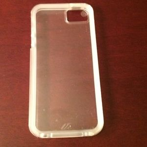 Case Mate Accessories - Clear IPhone 5s Case by Case Mate