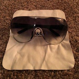 D&G Dolce & Gabbana Aviator Sunglasses