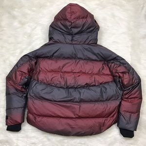 e410623ac159 Nike Jackets   Coats -  Nike  Uptown 550 Down Cocoon Jacket Crimson Ombre