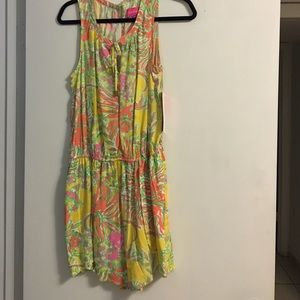 Lily Pulitzer for target romper new with tags