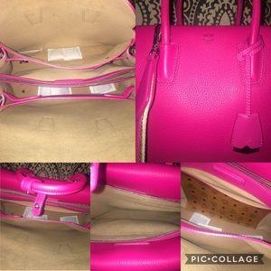MCM Bags -    SOLD ON TRADESY    MCM Medium Hot Pink f6b7003fc2ee8
