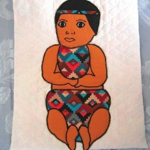 Baby Quilt Wall hanging Inuit Native American