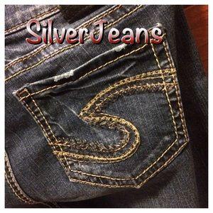 Silver Jeans Denim - SilverJeans Tuesday straight leg jeans.