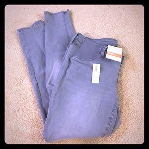 Maternity side panel skinny jeans size 8 regular