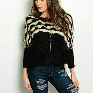 Sweaters - Fuzzy sweater