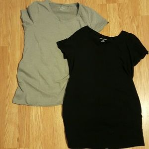 BumpStart Tops - Set of BumpStart maternity tees