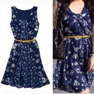 Jason Wu for Target Dresses & Skirts - Jason Wu for Target Navy Blue Floral Dress