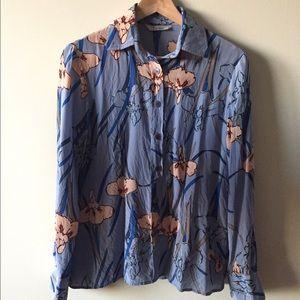 Tucker Anthropologie Iris blouse