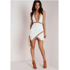 Missguided + Dresses & Skirts - Missguided white halter dress