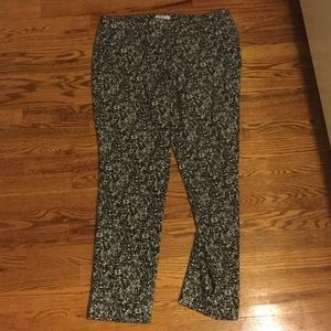 Katherine Barclay Pants - Black and white work trousers