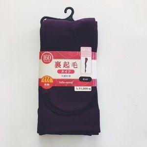 Uniqlo Accessories - NWT Purple Fleece Lined Tights