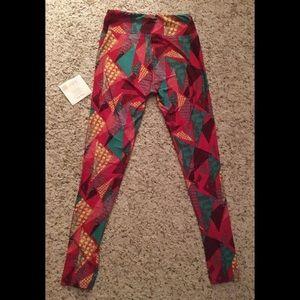 <LuLaRoe> One Size Printed Leggings (BRAND NEW)
