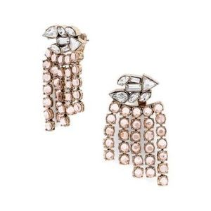BaubleBar ear jacket crystal earrings