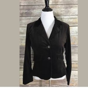 Kate Hill Jackets & Blazers - NEW Kate Hill Blazer Jacket Chocolate Brown Career