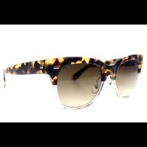 Gucci Tortoise Havana Round Sunglasses New GG3744