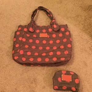 Marc by Marc Jacobs nylon bag with make up pouch