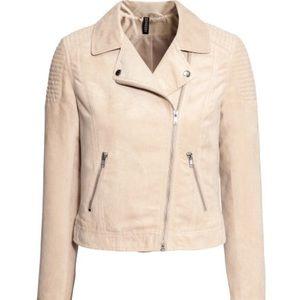 Divided Jackets & Blazers - Suede biker jacket