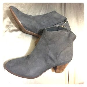 Carlos Santana Shoes - Harper Gray Booties