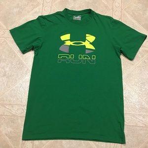 Under Armour Other - Under Armour green running t-shirt