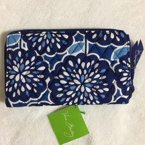 Vera Bradley Handbags - Vera Bradley Zip Around Wallet Petal Splash