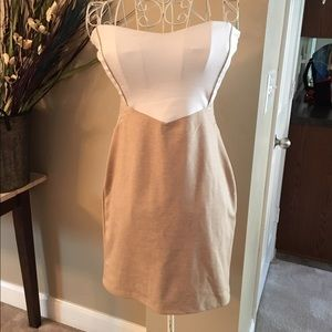 Dresses & Skirts - NWT Sz Large Boutique Brand Fitted Mini Dress