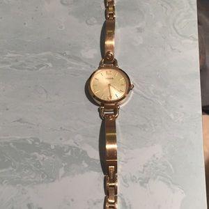 Fossil Georgia Gold Watch