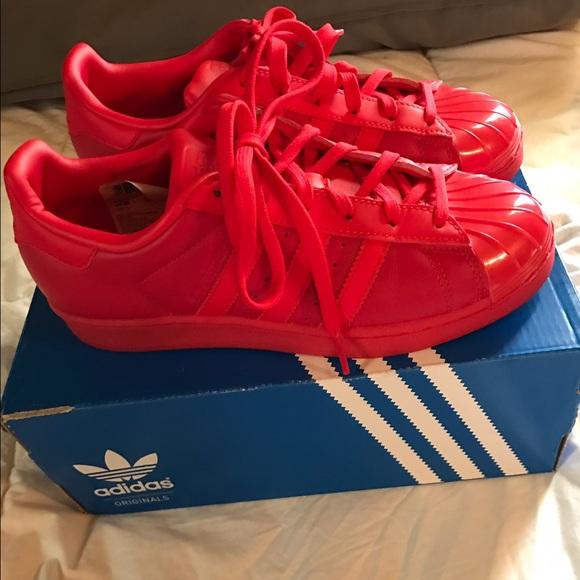 adidas superstar red