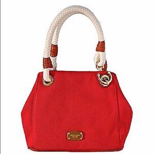 Michael Kors Red Marina Grab Bag