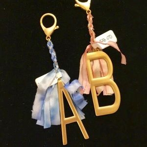 🔥NEW!🔥Anthropologie Letter A Keyring