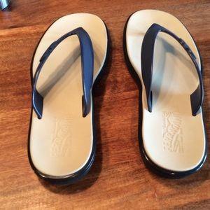 8044d1736ddf5 Salvatore Ferragamo Shoes - Salvatore Ferragamo Nizza Mens Flip Flops