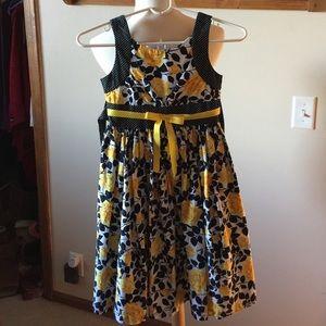 Bonnie Jean Other - Beautiful Yellow Rose Bonnie Jean Dress