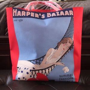 Harper's Bazaar tote