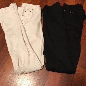 Tractr Other - Black And White Kids Skinny Jeans Lot