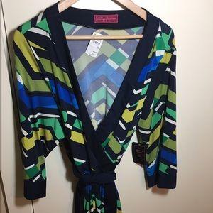 Melissa Masse Dresses & Skirts - NWT Melissa Masse wrap dress 3x