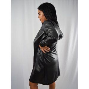 Ashlee Natalia Jackets & Blazers - SALE 🔥 Lana Faux Coat - Black