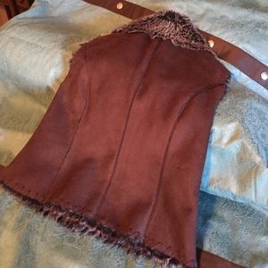 Scully Other - Faux leather vest