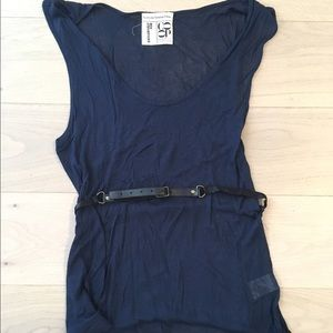 Barneys New York CO-OP Tops - Society for Rational Dress for Barneys Belted Tank