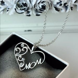 Jewelry - Mom Heart Necklace ❤️