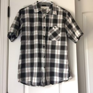 Ezekiel Other - Men's Plaid Short-Sleeve Button Down Shirt