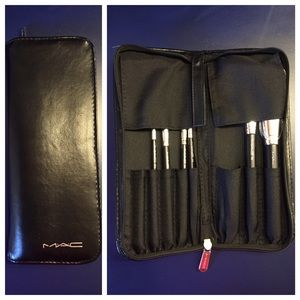 MAC Cosmetics Other - Cosmetic Brush Set and Case