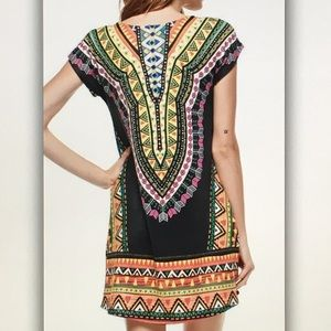Dresses - 💛Black aztec💛 inspired body con dress
