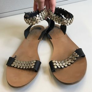 J. Crew Shoes - JCREW ANKLE MADE IN ITALY SANDALS
