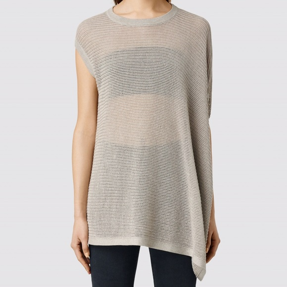 AllSaints Aster Open Knit Top Online Cheapest  Buy Cheap Reliable Clearance High Quality Exclusive uu6Sj