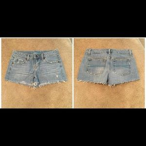 Denim Shorts - Size 3/4