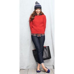 Red Lands' End Sweater