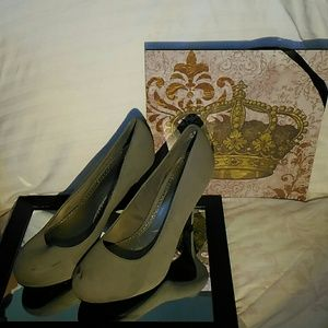 FIONI Clothing Shoes - Fioni Grey High Heels