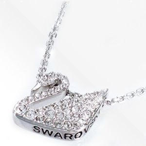Swarovski Jewelry - Swarovski Swan Necklace