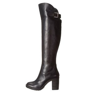 Donald J. Pliner Shoes - ▪️HP 5/1▪️Black Over the Knee Leather Boots